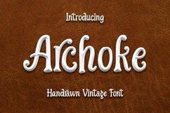 Archoke - Handrawn Vintage Font Product Image 1