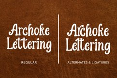 Archoke - Handrawn Vintage Font Product Image 4