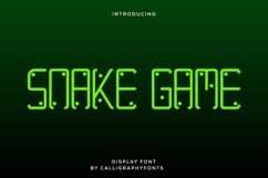 Snake Game Product Image 1