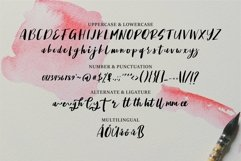 Web Font Areslone - A Stylish Handwritten Font Product Image 4