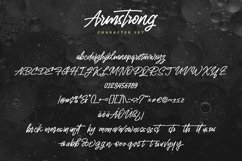 Web Font Armstrong - Monoline Handwriting Script Font Product Image 5