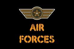 Air Forces Font