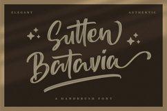 Sutten Batavia - Brush Font Product Image 1