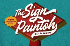 The Sign Paintoh - Bold Script Product Image 1