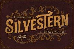 Silvestern - Vintage Display Font Product Image 1