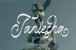 Taniesha - Stylish Display Script Product Image 1