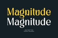 Magnitude - Stylish Sans Serif Product Image 1