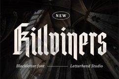 Killviners - Modern Blackletter Font Product Image 1