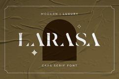 Larasa - Modern Luxury Serif Font Product Image 1
