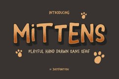 Mittens - Casual Fun Fonts Product Image 1