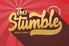 The Stumble - Retro Bold Script Product Image 1