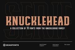 Knucklehead Serif | Vintage Font Product Image 1