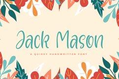 Jack Mason - Playful Font Product Image 1