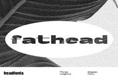 Fathead Display Font Product Image 1