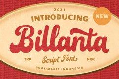 Billanta - Vintage Bold Script Product Image 1