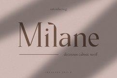 Milane - Classic Serif Font Product Image 1