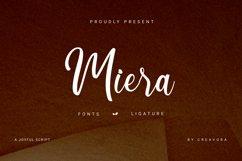 Miera - Joyful Script Font Product Image 1