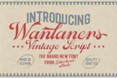 Wanlaners - Vintage Script Product Image 1