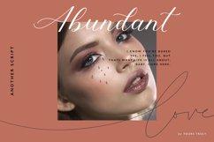 Abundant Script - Modern Calligraphy Fonts Product Image 1