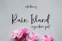 Rain Island || signature font Product Image 1