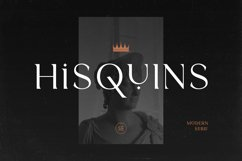 Hisquins - Minimalis & Modern Serif Product Image 1