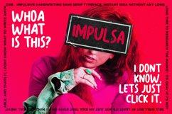 Impulsa - Handwritten Bold Fonts Product Image 1