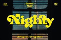 Nighty - Vintage Serif Typeface Product Image 1