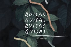 Quisas - Quirky Handwriting Fonts Product Image 4