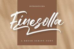 Finesolla - Brush Font Product Image 1