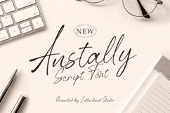 Anstally Script Font Product Image 1