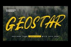 Geostar - Brush Font Product Image 1