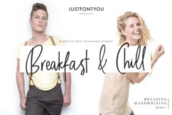 Breakfast and Chill - Handwriting Fonts Product Image 1