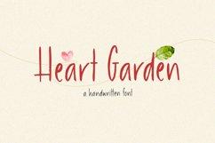 Heart Garden - A Handwritten Font Product Image 1