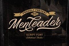 Menleader - Script font Product Image 1