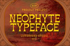Neophyte Typeface Product Image 1