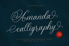 Amanda Calligraphy Product Image 1