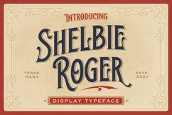 Shelbie Roger - Vintage Display Font Product Image 1