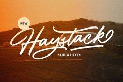 Haystack - Handwritten Script Product Image 1