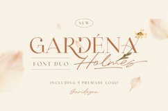 Gardena Holmes - Font Duo Product Image 1