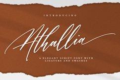 Athallia - Luxury Font Product Image 1