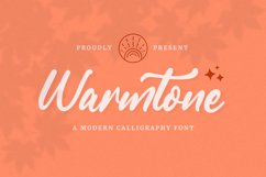 Warmtone - Instagram Font Product Image 1