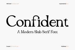 Confident - Slab Serif Product Image 1