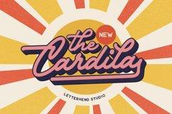 The Cardila - Retro Script Product Image 1