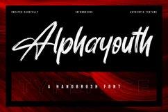 Alphayouth - Brush Font Product Image 1