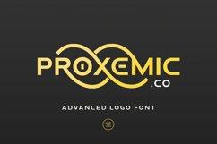 Proxemic - Advanced Logo Font Product Image 1