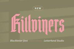 Killviners - Modern Blackletter Font Product Image 2