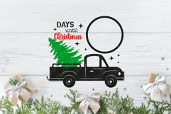 20 Christmas Countdown, Advent Calendar SVGs, Xmas countdown Product Image 2
