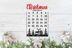 20 Christmas Countdown, Advent Calendar SVGs, Xmas countdown Product Image 4