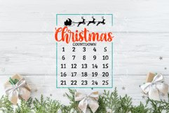 20 Christmas Countdown, Advent Calendar SVGs, Xmas countdown Product Image 3