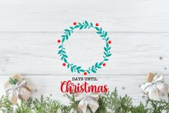 20 Christmas Countdown, Advent Calendar SVGs, Xmas countdown Product Image 6